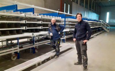 Meubles de préparations de commandes Prodex à Tilburg – Pays-Bas