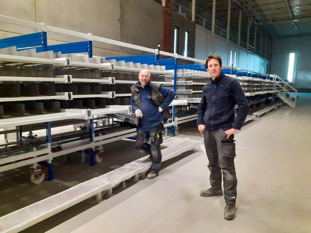 Meubles de préparations de commandes Prodex à Tilburg - Pays-Bas - TECH BRETAGNE